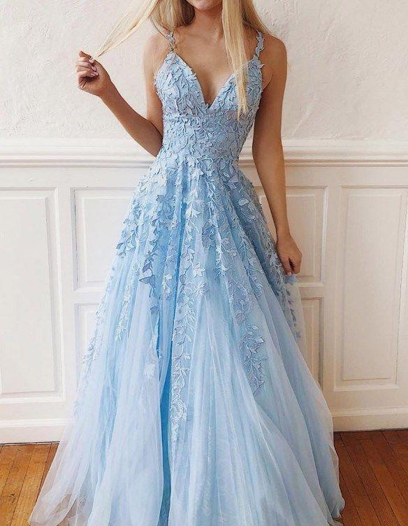En Iyi 30 Mezuniyet Elbisesi Modelleri 2019 2020 Trendler Ve Moda Prom Promdress 2019prom Ballgown Uzun Mezuniyet Balosu Elbiseleri Mavi Abiye The Dress