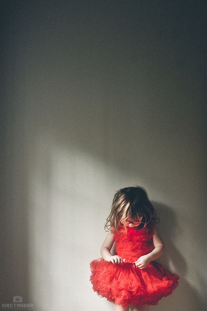 red dress by Kate T. Parker Photography, via Flickr