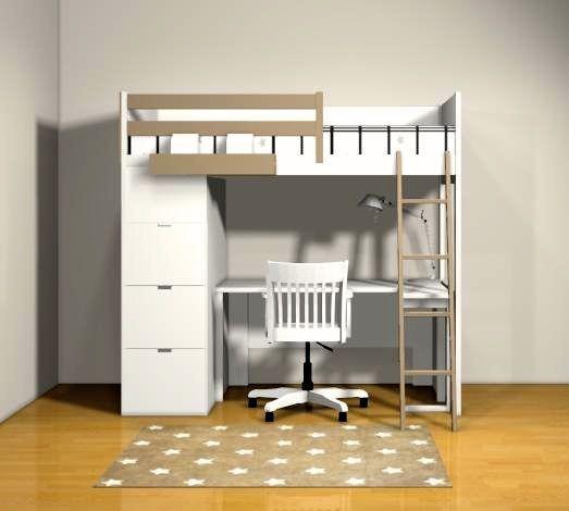 lit mezzanine compact top alors que je venais de mettre le dernier lment du lit de mes garons. Black Bedroom Furniture Sets. Home Design Ideas