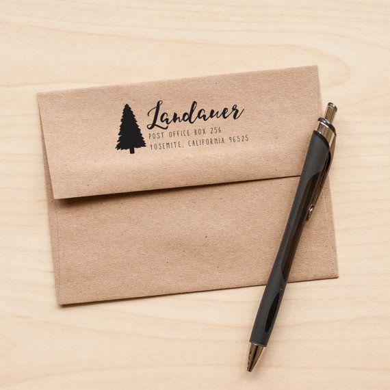 The 25+ best Custom return address stamp ideas on Pinterest ...