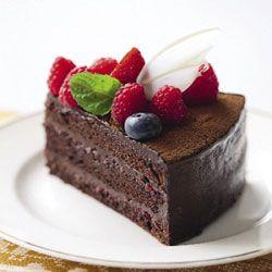 Chocolat Framboise birthday cake