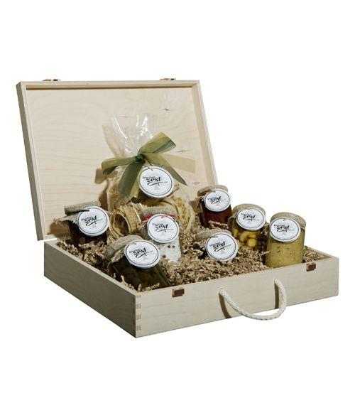 Mediterranean Lunch Gift Box - entire gift box