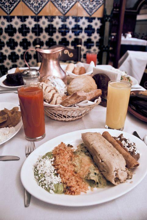 Desayuno en Café De Tacuba #Mexico DF