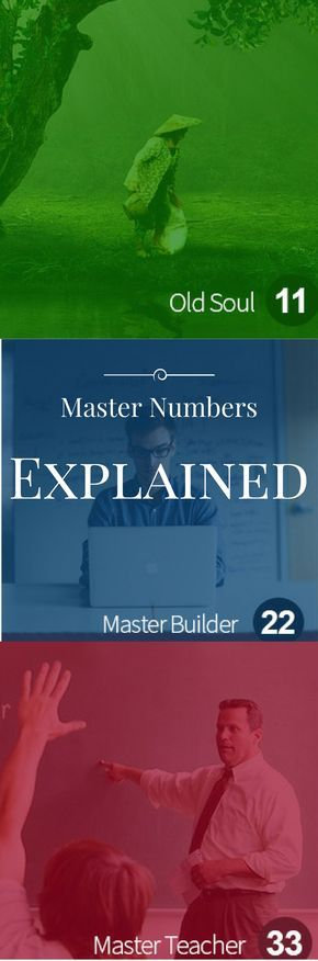 Master Numbers Explained http://vid.staged.com/gBWs