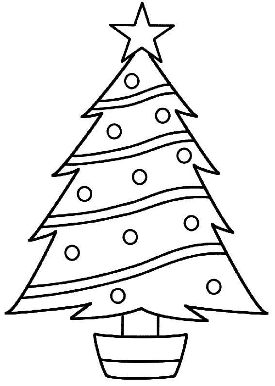 Albero Di Natale Da Colorare E Stampare.21 Disegni Dell Albero Di Natale Da Colorare Alberi Di Natale Modelli Di Albero Natale