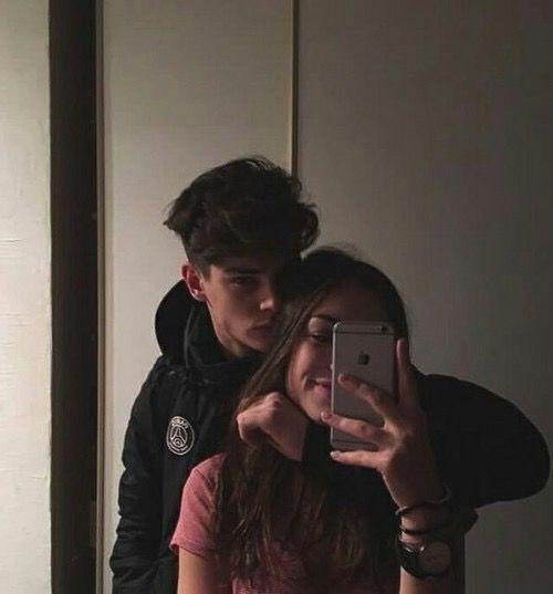 relationship goals, cute, couple, grunge, teenagers, tumblr, selfie