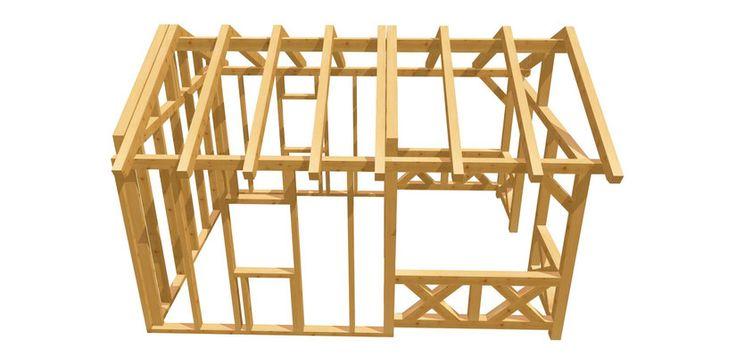 25 best ideas about gartenhaus selber bauen on pinterest. Black Bedroom Furniture Sets. Home Design Ideas