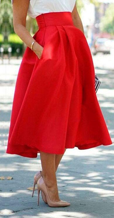Готовая выкройка юбки со складками   Выкройки онлайн и уроки моделирования