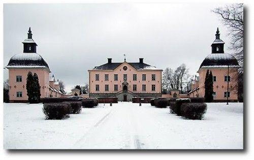 Hesselby Slott, Stockholm, mid-17thC.