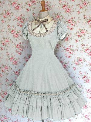 Brand: Mary Magdalene Style: Whyteleafe Type: OP Colour: Milky Mint Price: ¥26,040  Status: Priority