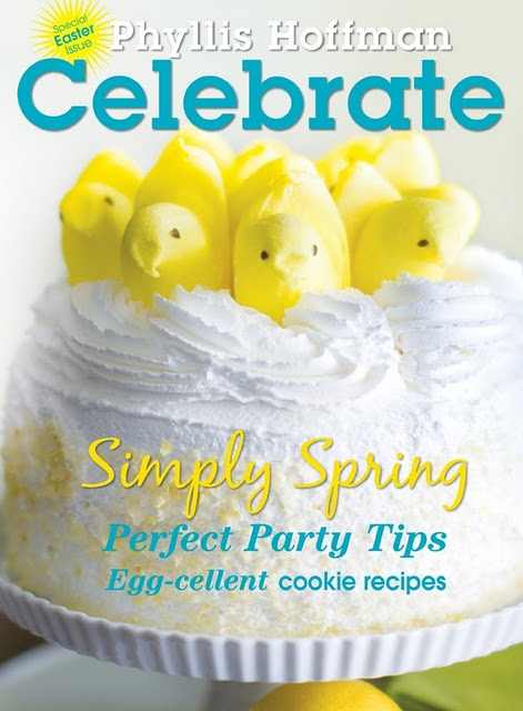 Easter-use peeps in decorating dessertsBirthday Celebrities, Celebrities Magazines, Bunnies Hop, Lemon Cake, Landers Events, Phyllis Hoffman, Hoffman Depiano, Parties, Kate Landers