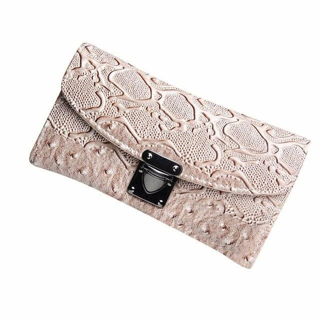 3ca44be0b451 New Wallet Women Simple Coin Purse Artificial leather Solid Color ...