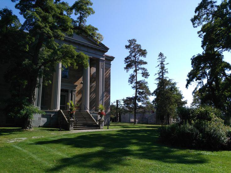 1840s Greek Revival mansion at Ruthven Park National Historic Site, September 2017