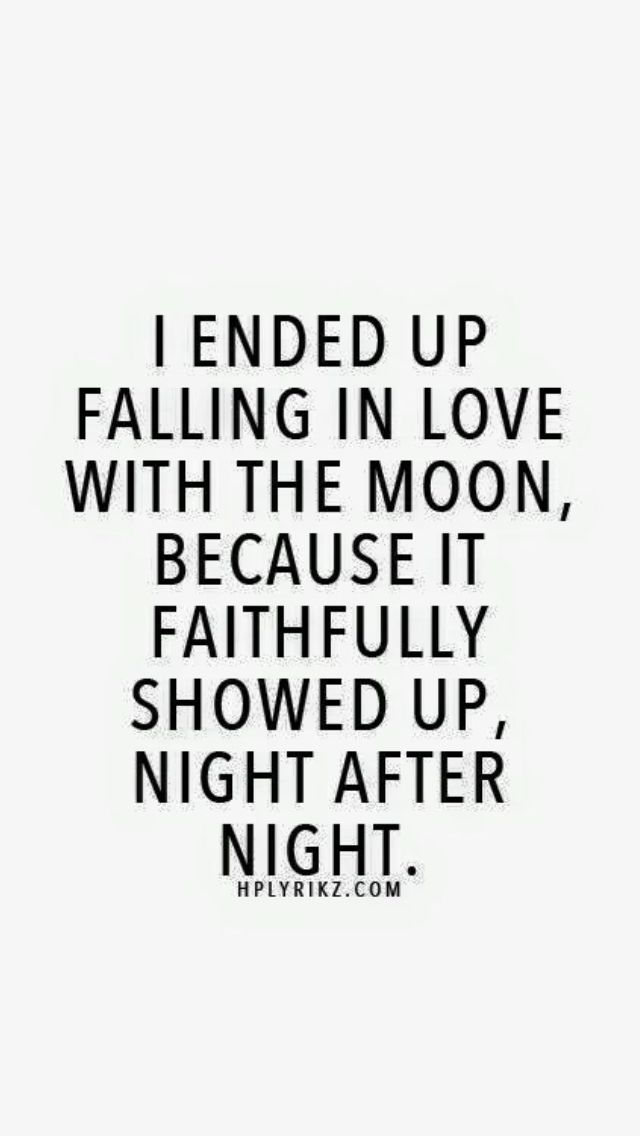 ❤️ said the wolf to the moon