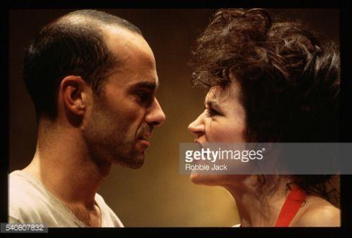 Lorraine Ashbourne and Finbar Lynch appear in a Donmar Theatre... #ashbourneaireborough: Lorraine Ashbourne and… #ashbourneaireborough