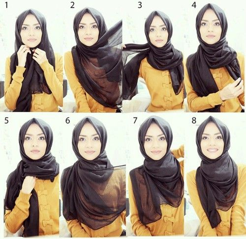 Gorgeous Classy Hijab Tutorial For Daily Wear