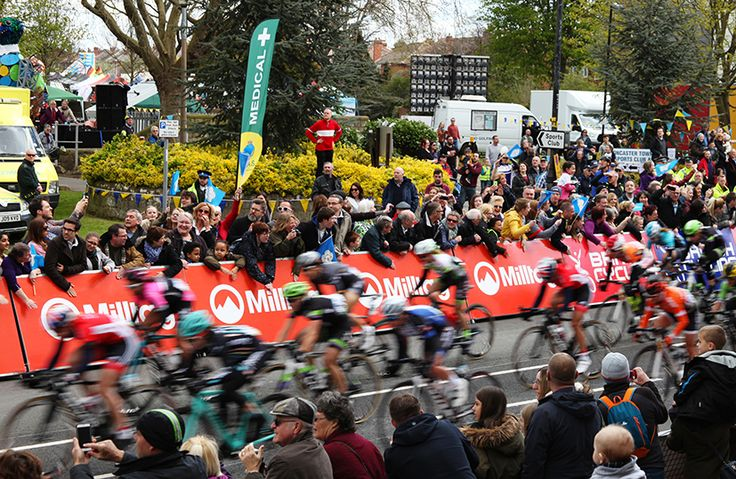 At around 12:30pm the women's Tour De Yorkshire 2016 race sped past the front of our Terrace.