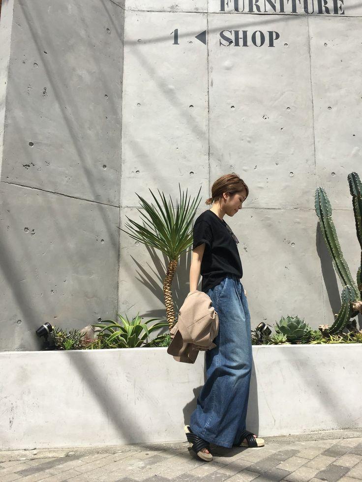 LIFE's#203堀江店 | ..natsu..さんのTシャツ/カットソー「TODAYFUL BoyfriendTシャツ」を使ったコーディネート