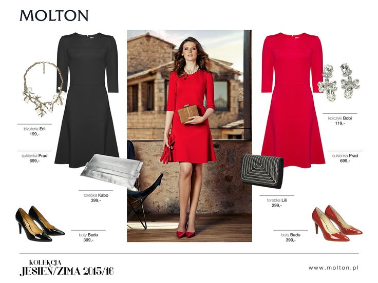 #molton #moltonstyl #new #collection #jesien #zima #fashion #autumn #winter #aw1516 #dress #bag #modelka #woman #classic #fashion