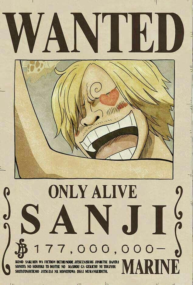 Wanted Sanji