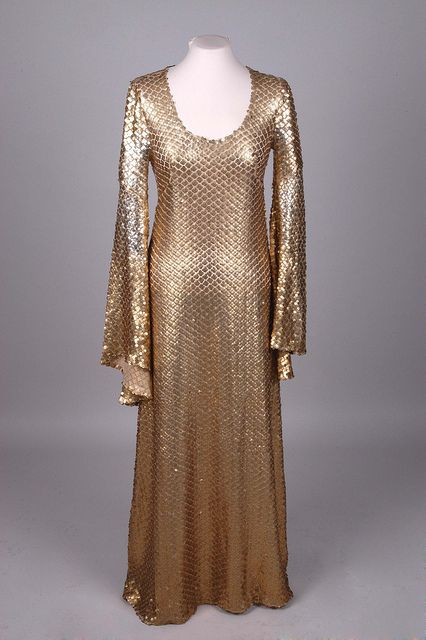 BIBA, London, Evening dress, c. 1970-71   Flickr - Photo Sharing!
