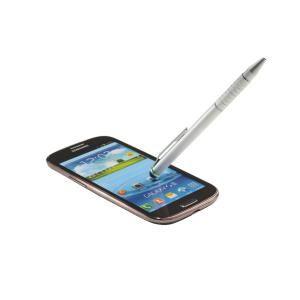 Pix 2 in 1 pentru touchscreen, argintiu, LEITZ Stylus