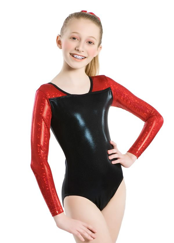 the euro metallic long sleeve leotard is part of the i color color collection the gymnastics. Black Bedroom Furniture Sets. Home Design Ideas