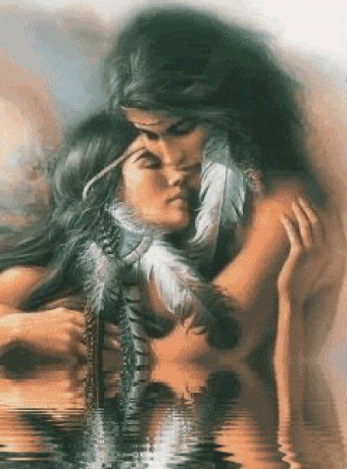 Native American Symbol for Love | ... with Lord Sananda and Alexandriah Stahr | Native American Love Picture