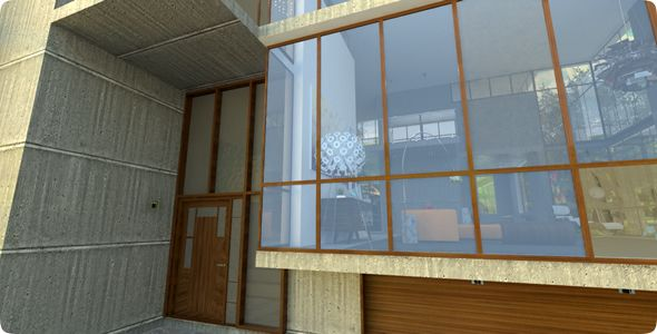 architectural drawings from CAD to 3D & photo-realistic renders