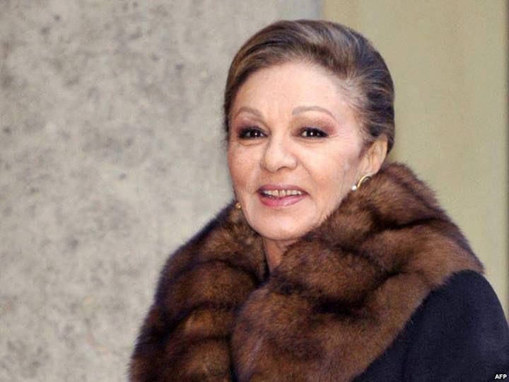 Farah pahlavi diba former empress of iran now 2013 for Shah bano farah pahlavi