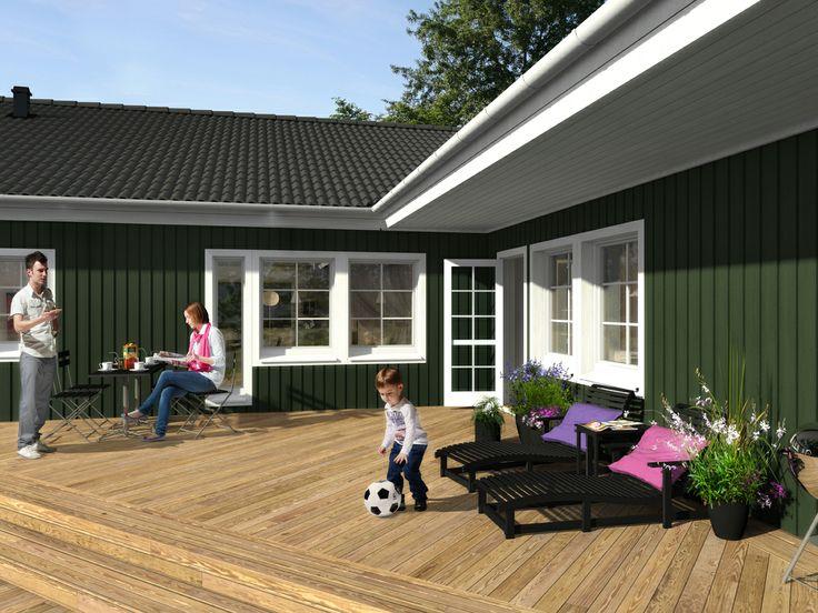 Älvsbyhus vinkelhus modell Ägir 145,7 m²