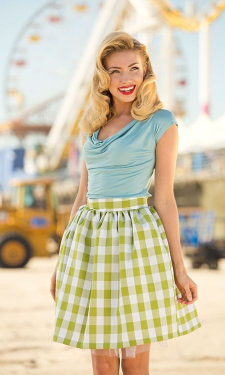 Picnic Park Skirt Shabby Apple