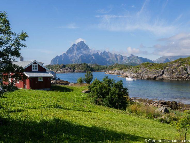 Une semaine à vélo dans les Lofoten en été - Itinéraire détaillé, photos et récit de voyage pour vous aider à vous organiser. Une randonnée exceptionnelle!