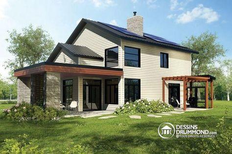 Les 25 meilleures id es concernant panneaux solaires sur - Maison suedoise en kit ...