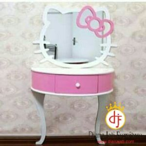 Meja Rias Hellow Kitty, tolet, furniture jepara | dianajati.com