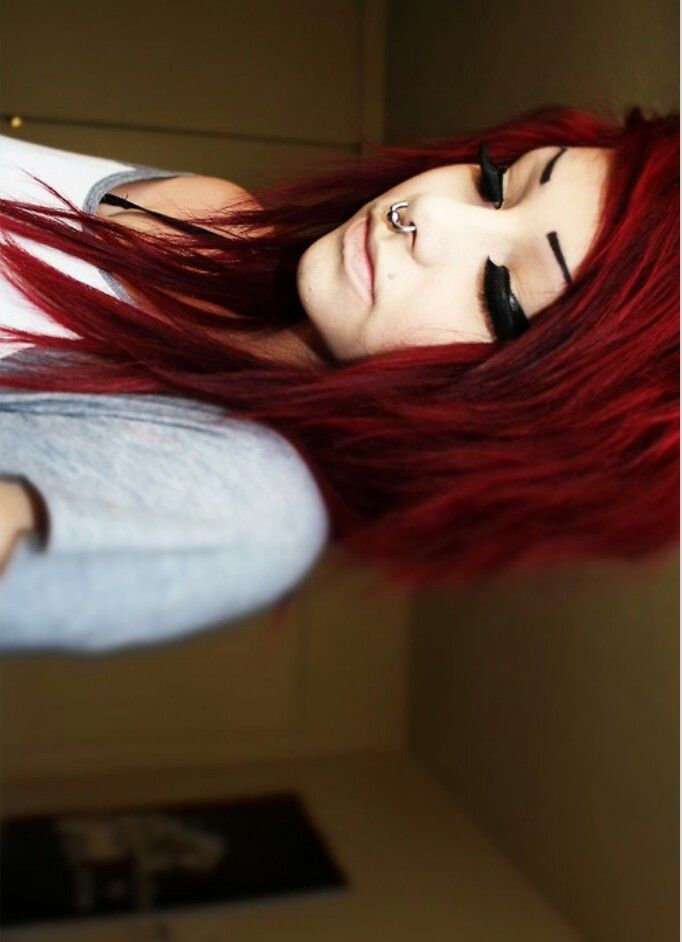 this is the color I want my hair:)