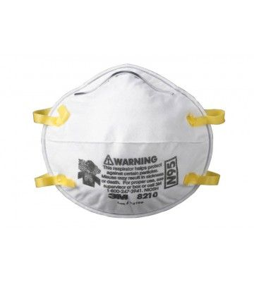 3M™ Particulate Respirator 8210, N95 Respiratory Protection https://www.labbazaar.in/index.php/our-brands/3m/3mtm-particulate-respirator-8210-n95-respiratory-protection-1909.html