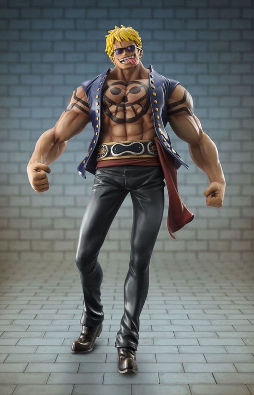 "Portrait.Of.Pirates One Piece ""Sailing Again"" Bellamy The Hyena 1/8 Scale"