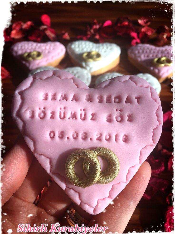Nişan kurabiyesi söz kurabiyesi butik kurabiye