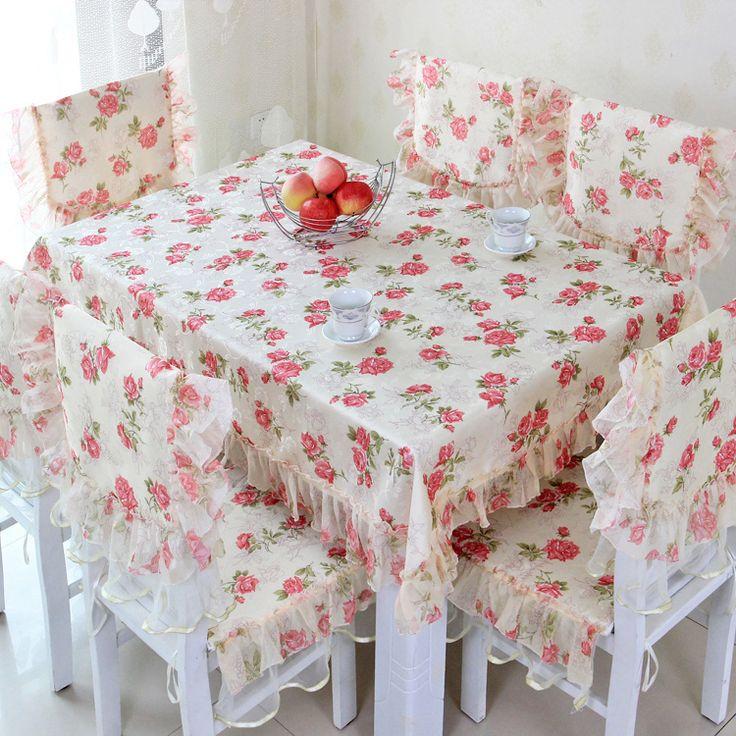korean moda dantel kumaş sandalye örtüsü sandalye minder masa örtüsü(China (Mainland))