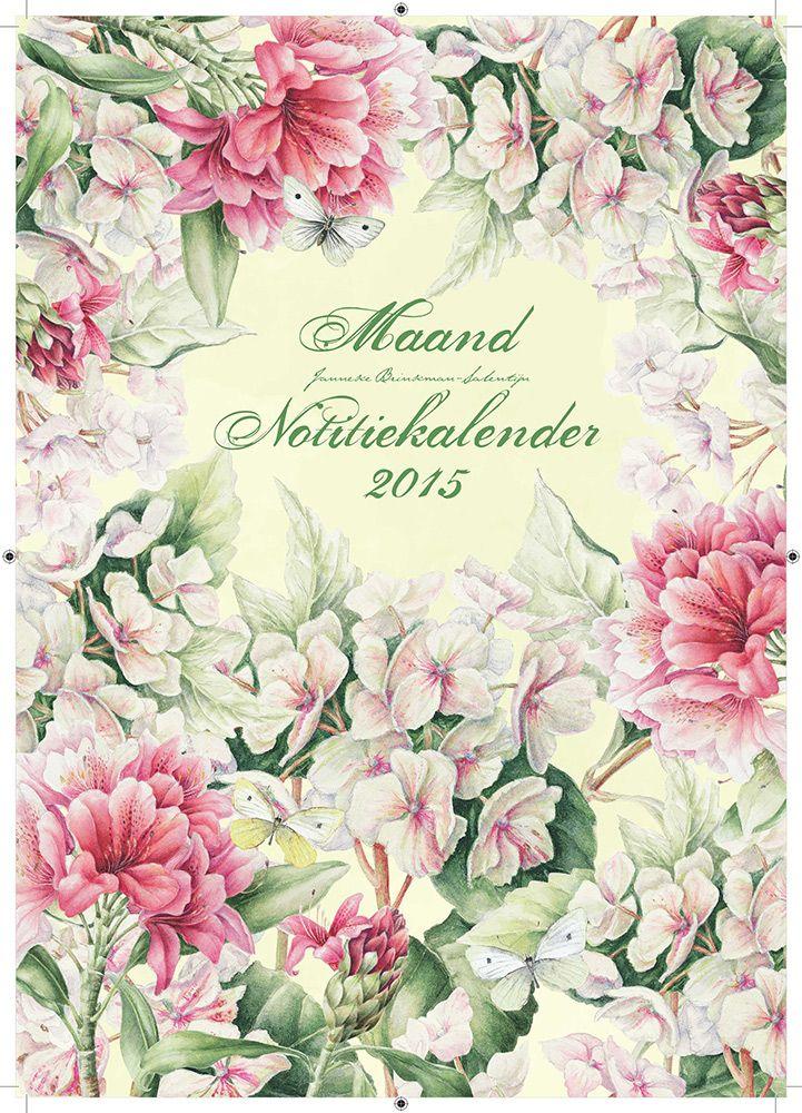 Al sinds 1993 is Janneke Brinkman-Salentijn columniste bij het weekblad Margriet. Haar hobby, het aquarelleren van bloemen, vlinders en vruchten, groeide uit tot een professionele loopbaan. Haar werk toont haar liefde voor de natuur en de complexe rijkdom aan planten en bloemen in Nederland. Deze Notitie kalender (nu a4 formaat!) bevat veel afbeeldingen met recente werken van Janneke Brinkman. €9,99
