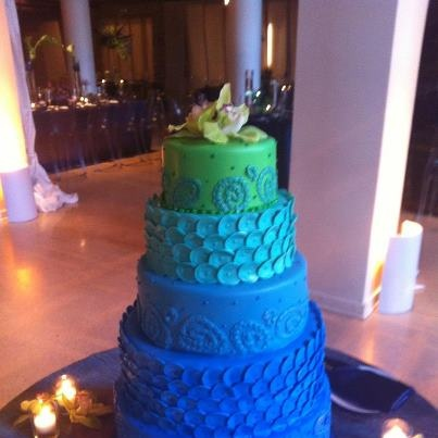 Toni Patisserie- Gorgeous ombre style cake!
