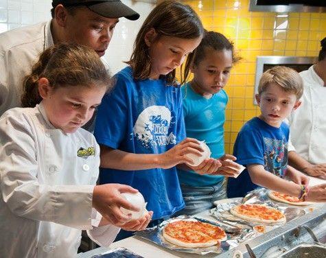 California Pizza Kitchen Scouts Tour