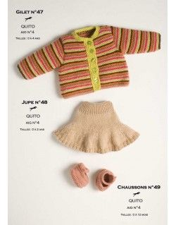Modèle Jupe CB11-48- Patron tricot gratuit