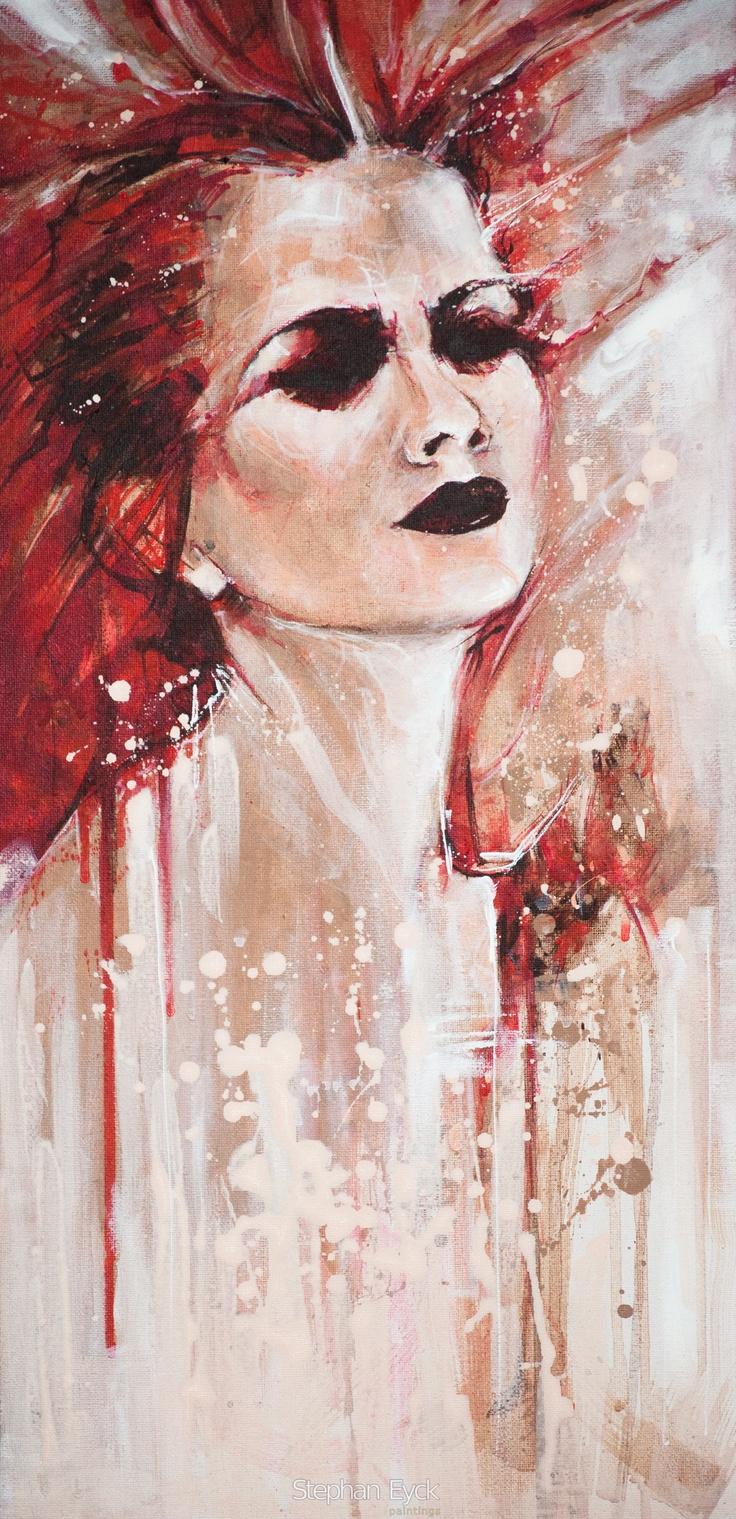 Acryll on canvas   30 x 60