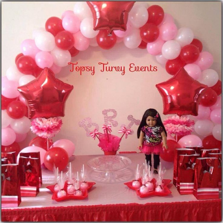 25 best american girl birthday ideas on pinterest doll for American party decoration