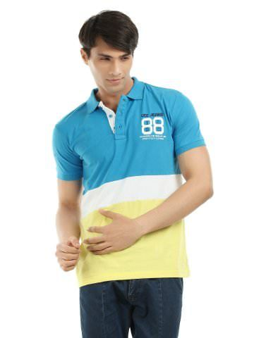 The Pigeon Needs a Bath: Inspiration - Colour blocked shirt. Perfect polo/Hipster henley