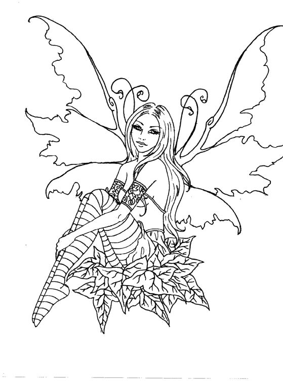 72 best Fairy drawings images on Pinterest Coloring books - best of easy coloring pages for christmas