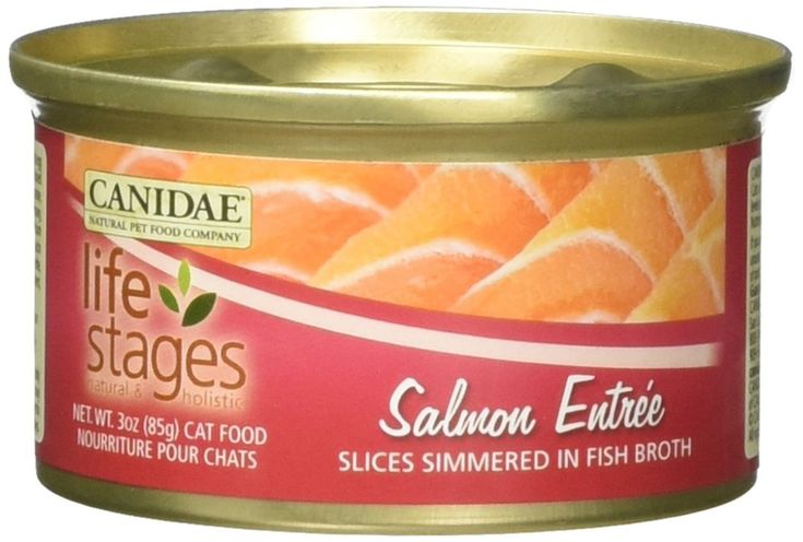 Canidae all life stages salmon 3 oz cat food case of 12