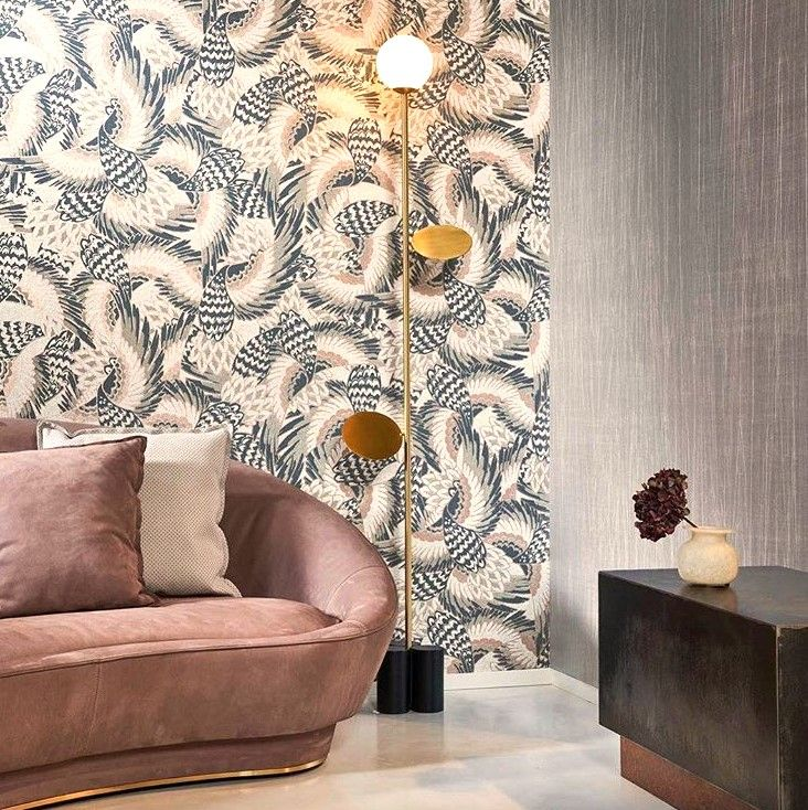 If You Have No Experience In Hanging Wallpaper These Vinyl And Nonwoven Are Just For You Wallpaper Living Room Living Room Wall Wallpaper How To Hang Wallpaper